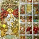 Golden Art Nouveau Tarot - Таро Золотая Галерея